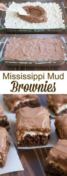My favorite one-bowl brownie recipe topped with warm gooey marshmallows and chocolate frosting.