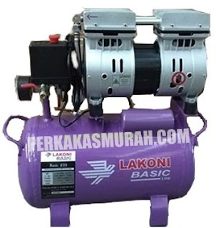 kompresor lakoni basic 25s, harga kompresor lakoni basic, spesifikasi kompresor lakoni basic