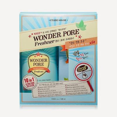 etude house, wonder pore, jual etude murah, perawatan pori-pori besar, cara mengecilkan pori-pori besar, chibis etude house,wonder pore freshner