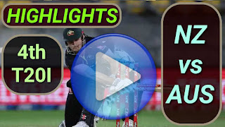 NZ vs AUS 4th T20I