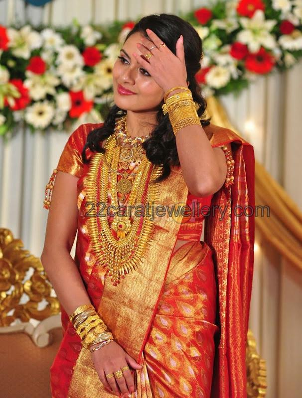 Dhanya Mary Traditional Wedding Jewelry Jewellery Designs