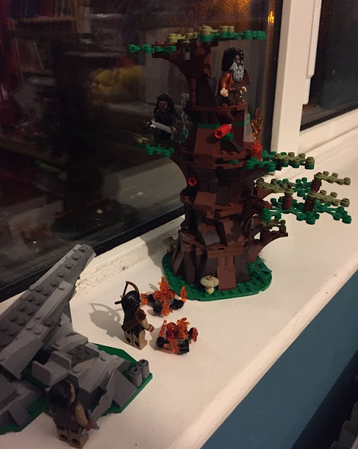Lego Lord of the Rings Wargs Attack