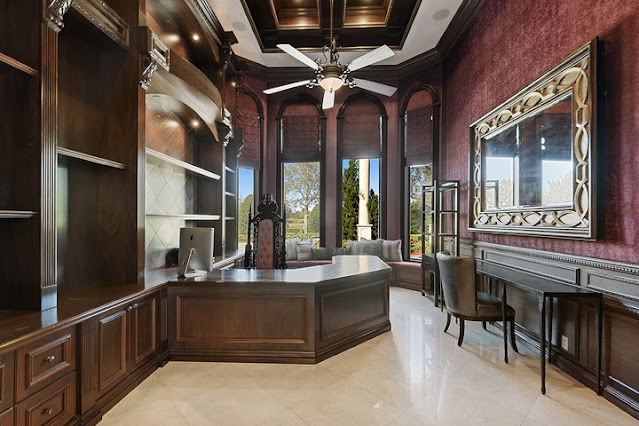 OMG! See inside Rick Ross' newly purchased Florida mansion which he bought from ex-NBA star Amar'e Stoudemire for $3.5 Million (Pictures)