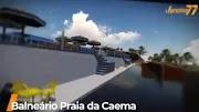 Projeto impressionante de Vanessa Maia prevê a construção do Balneário da Caema em Pedreiras