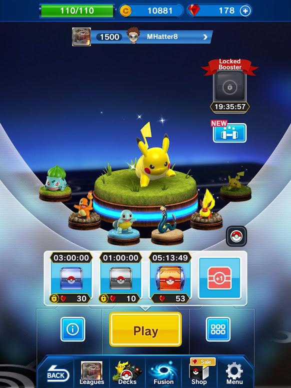 Pokémon Duel - Moedas e Gemas