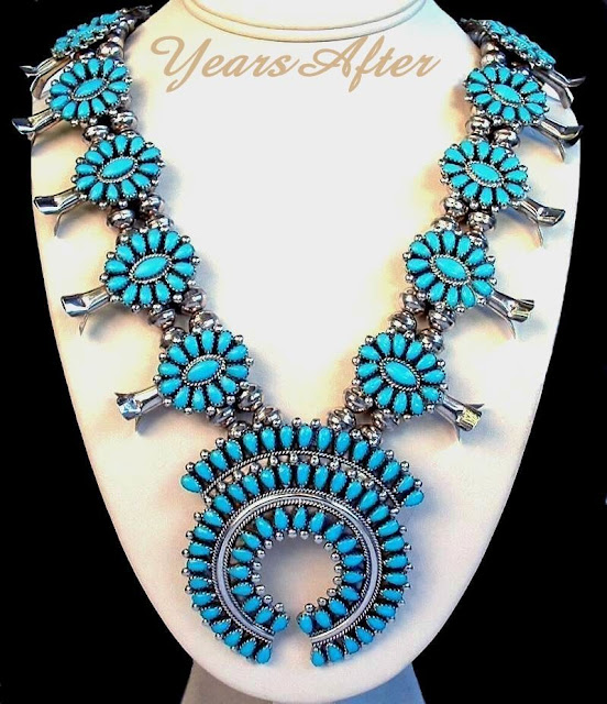 Vintage native american jewelry of the southwest vintage for How to make american indian jewelry