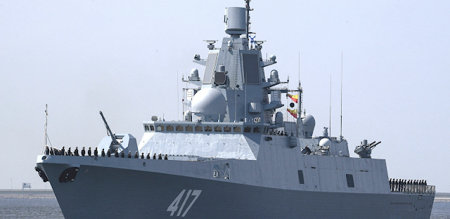 Russia's Most Modern Warship And Its Escorts Have Entered The Caribbean Sea