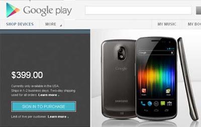 Galaxy Nexus HSPA+ será o primeiro aparelho a receber Android 4.1 Jelly Bean 2