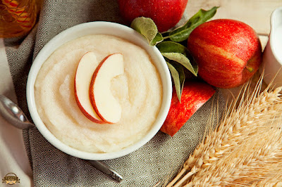 Apple cream to fair skin