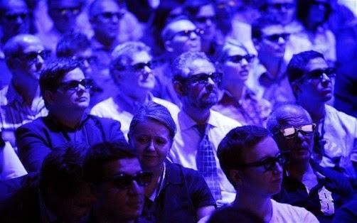παρακολούθηση κινηματογράφου 3D