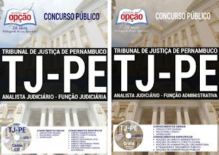 Apostila Concurso Tribunal de Justiça de Pernambuco - TJ-PE 2017