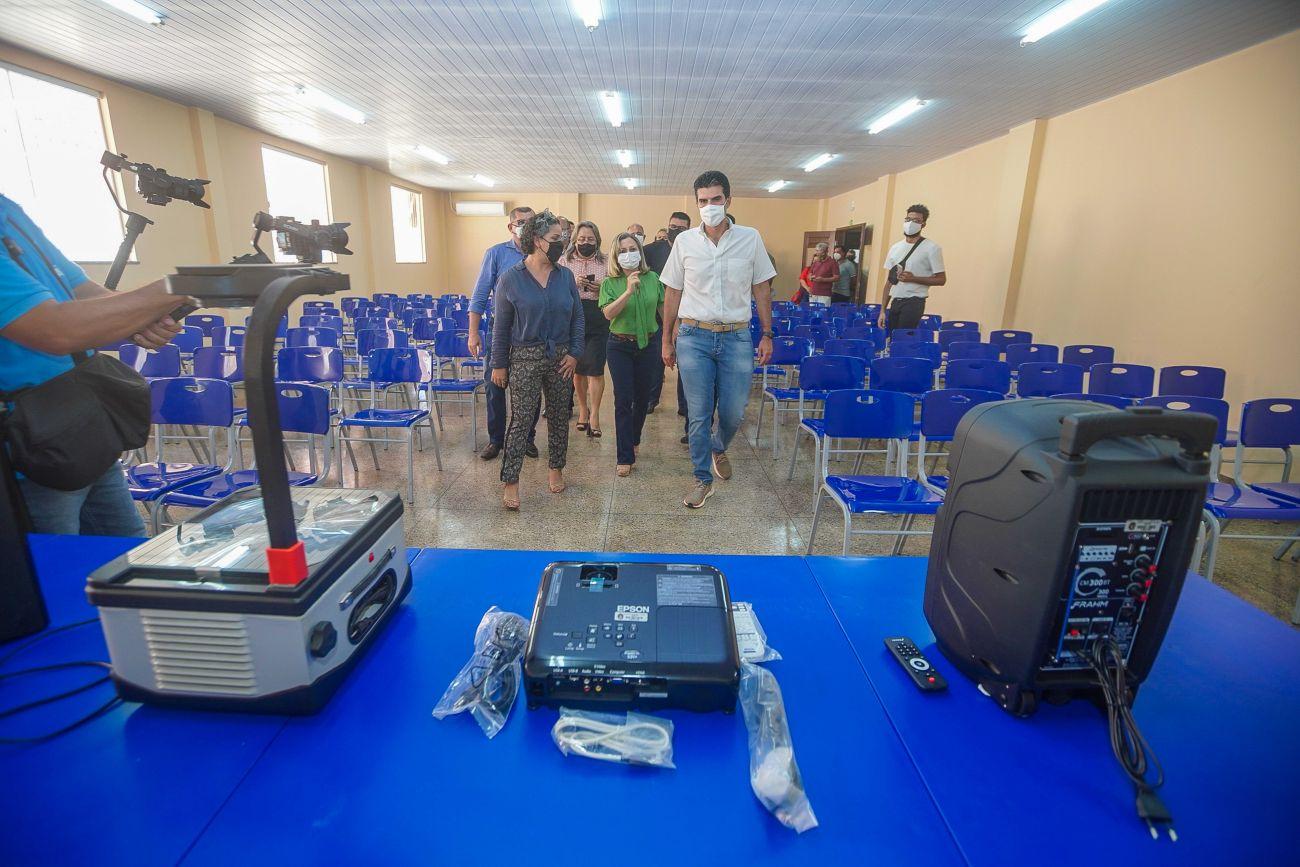 Santarém recebe a 40ª escola reconstruída e equipada pelo governo Helder