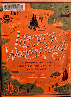 Book cover to Laura Miller's Literary Wonderlands