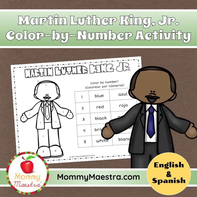 Martin Luther King, Jr. FREEBIE! — Teacher KARMA | 768x768