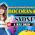 Bocoran Misteri 4D Sydney 4 Juli 2020