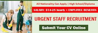 General Cleaner Jobs Recruitment in Cafe Dubai 2021