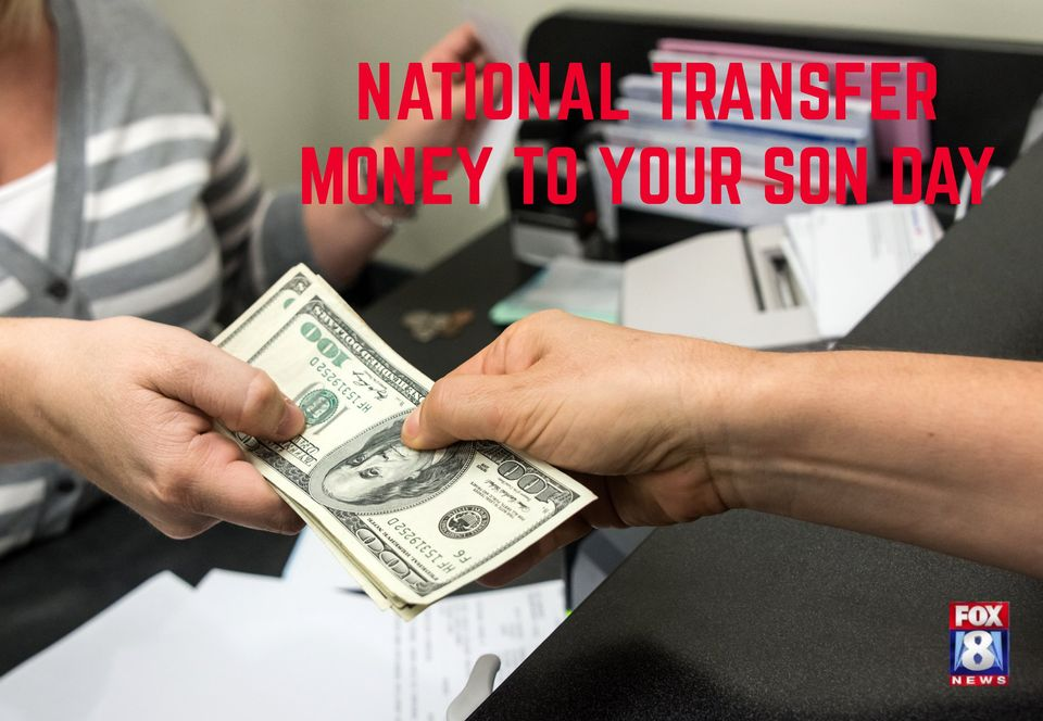 National Transfer Money to Your Son Wishes Photos