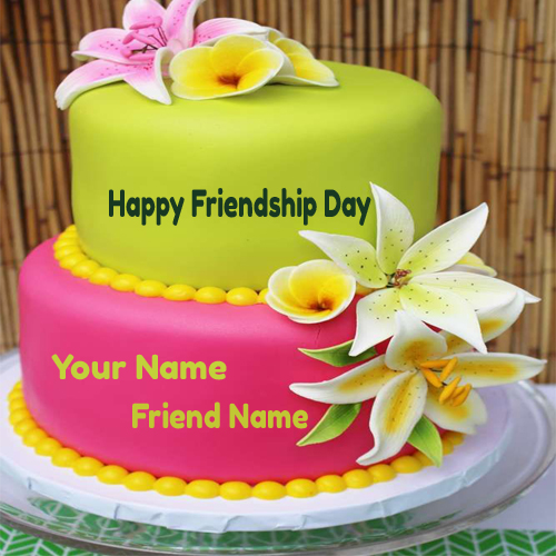 cake of friendship day 2017