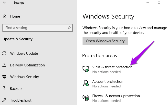 Tamper Protection Windows Security