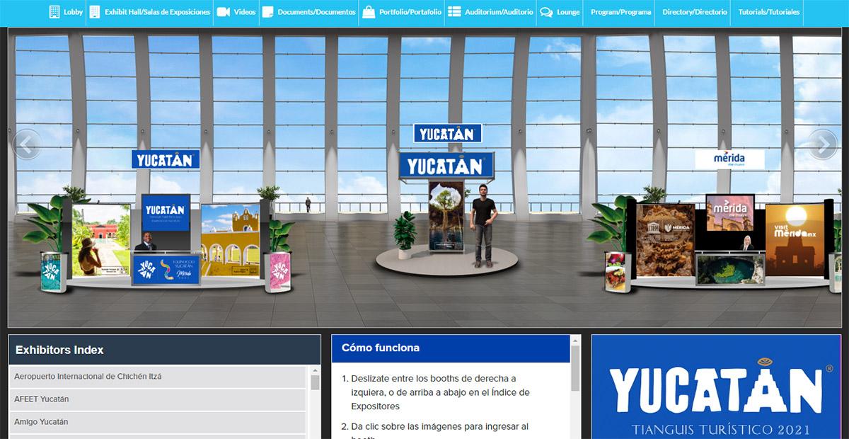 YUCATÁN FUERTE PRESENCIA TIANGUIS TURÍSTICO DIGITAL 01