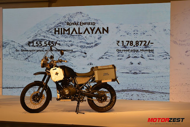 The Royal Enfield Himalayan Price