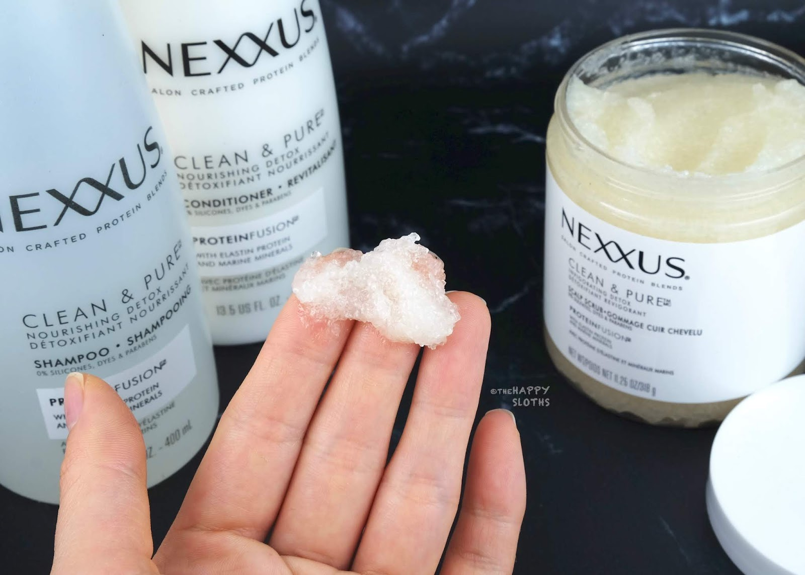 Nexxus | Clean & Pure Invigorating Detox Scalp Scrub: Review