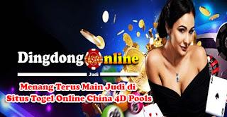Menang Terus Main Judi di Situs Togel Online China 4D Pools