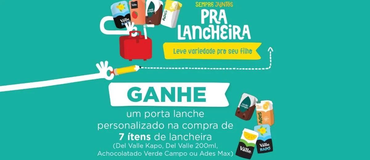 Promoção Sempre Juntos Pra Lancheira Ganhe Porta Lanche