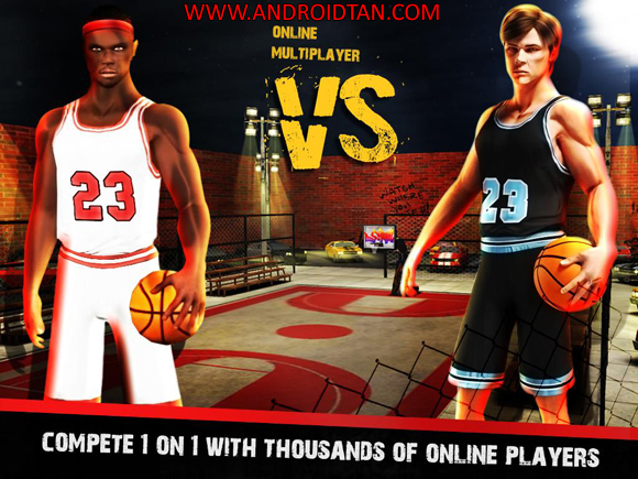 Free Download Street Basketball X – USA 3D Mod Apk v1.0.6 Unlimited Money Android Terbaru 2017