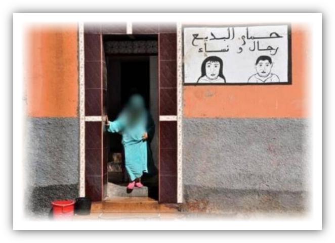 الوضع الوبائي يرخي بظلال الإفلاس على الحمامات الشعبية