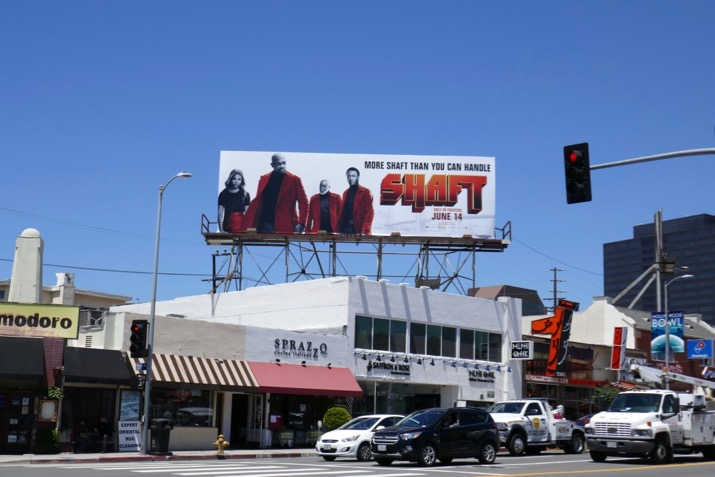 Shaft film billboard