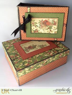 Winter Wonderland Album and Box Clare Charvill My Creative Spirit Graphic 45