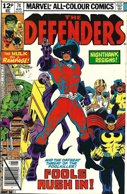 Defenders #74, the Foolkiller