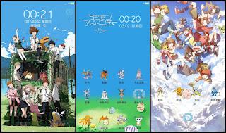 Download Kumpulan Tema Digimon Untuk Xiaomi