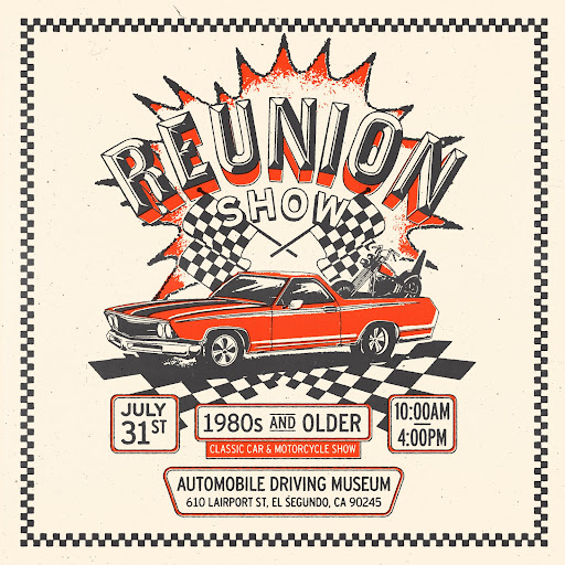 Reunion Motorcycle and Car Show