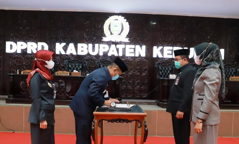Semua Fraksi Sepakati Empat Raperda Inisiatif DPRD Kebumen
