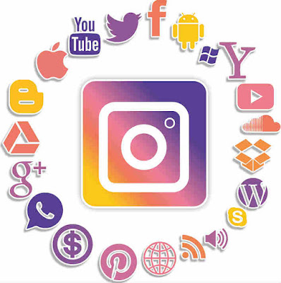 Bagikan konten akun Anda di berbagai media sosial
