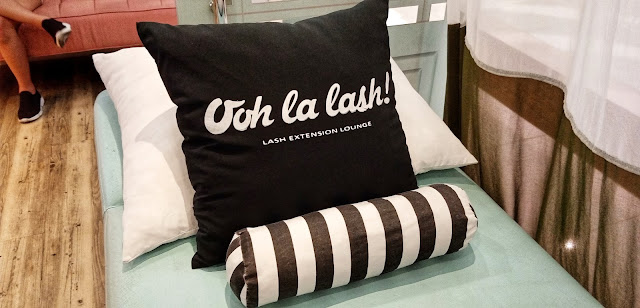 Ooh La Lash! pillows