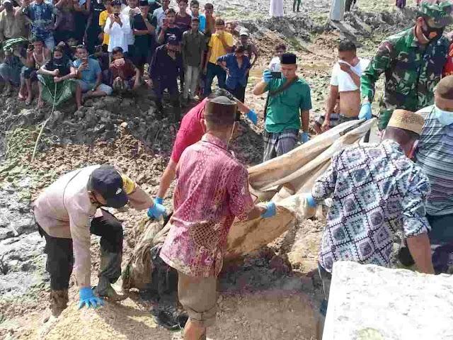 BREAKING NEWS, Polres Aceh Timur Berhasil Ungkap Identitas Mayat Dalam Karung di Sungai Peureulak Timur, Korban Warga Langsa
