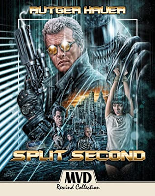 Cover art for MVD Rewind Collection's new Blu-ray release of SPLIT SECOND!