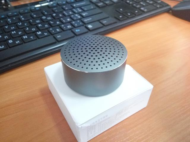 Xiaomi Aluminum Alloy Portable Mini Bluetooth Speaker