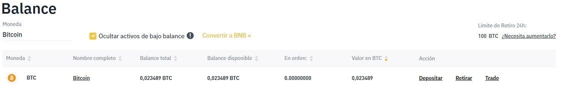 Comprar Criptomoneda COIN con Bitcoin desde Coinbase y Binance