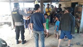 Kapolsek Maniangpajo Polres Wajo Himbau Warga patuhi Protokol Kesehatan