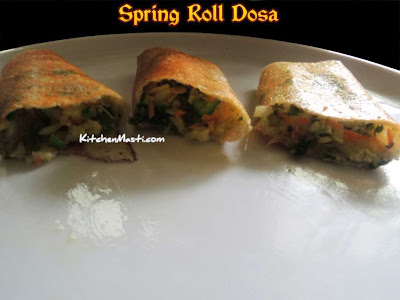 Spring Roll Dosa Photo