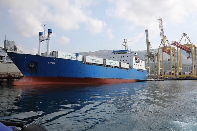 Ύποπτο πλοίο φέρεται να μεταφέρει τουρκικά όπλα στην Λιβύη