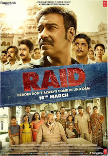 Second poster of Raid