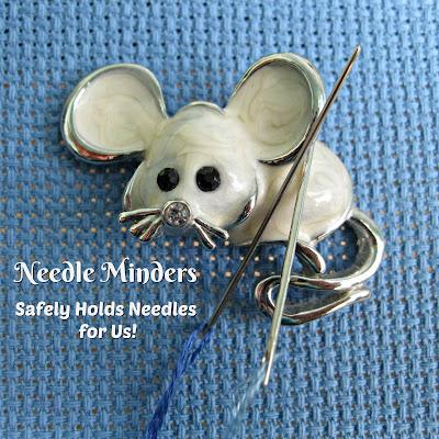 Needle Minders for Needlework & Sewing Enthusiasts
