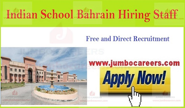 Available school jobs in Gulf countries, Job openings in UAe,