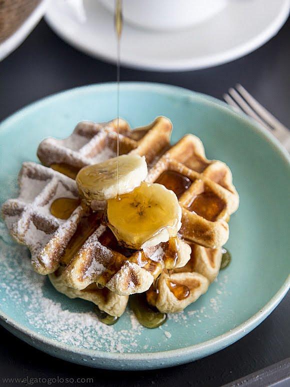 La receta de waffles (gofres) gluten free que estabas esperando
