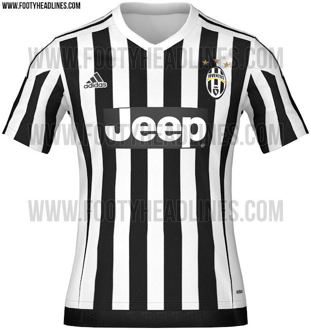 Primeras imágenes de las camisetas Adidas de la Juventus 2015 16 - La  Jugada Financiera c1201f2583b8e